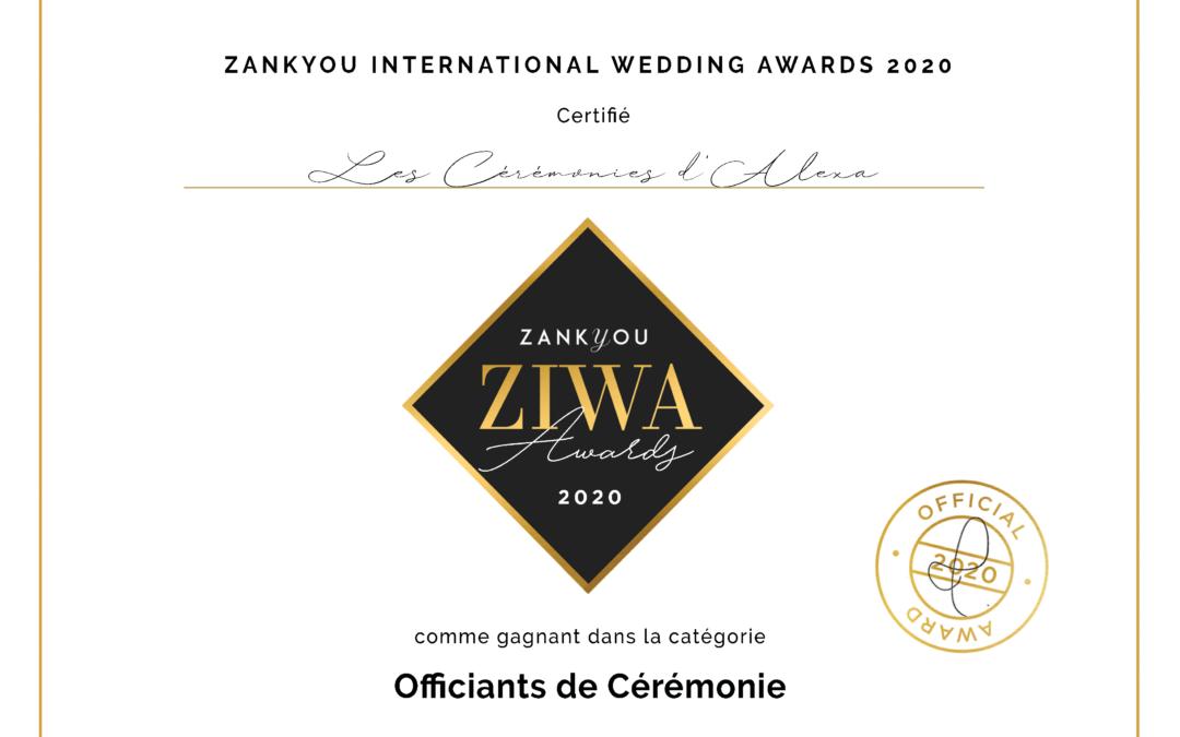 Prix Award Zankyou 2020