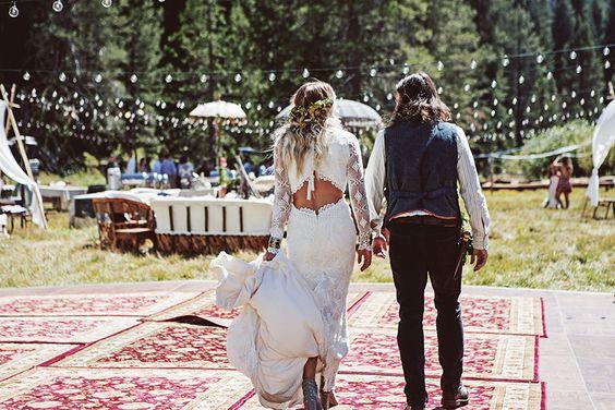 mariage boho coachella